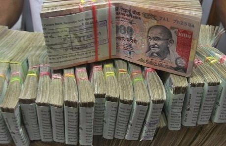 Banned 1000 notes seized