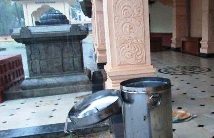 Theft at the historic temple