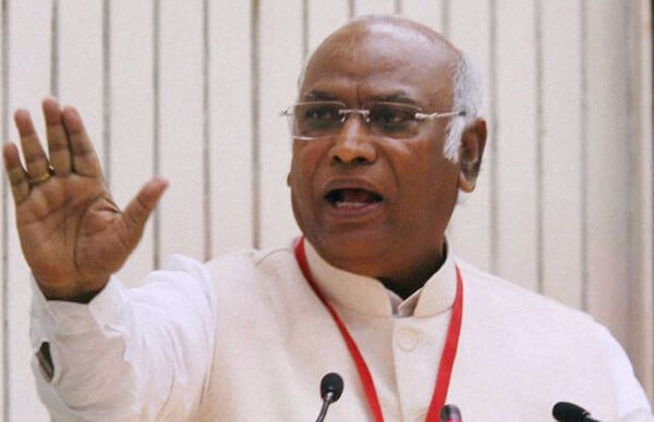 Kharge angery on BJP