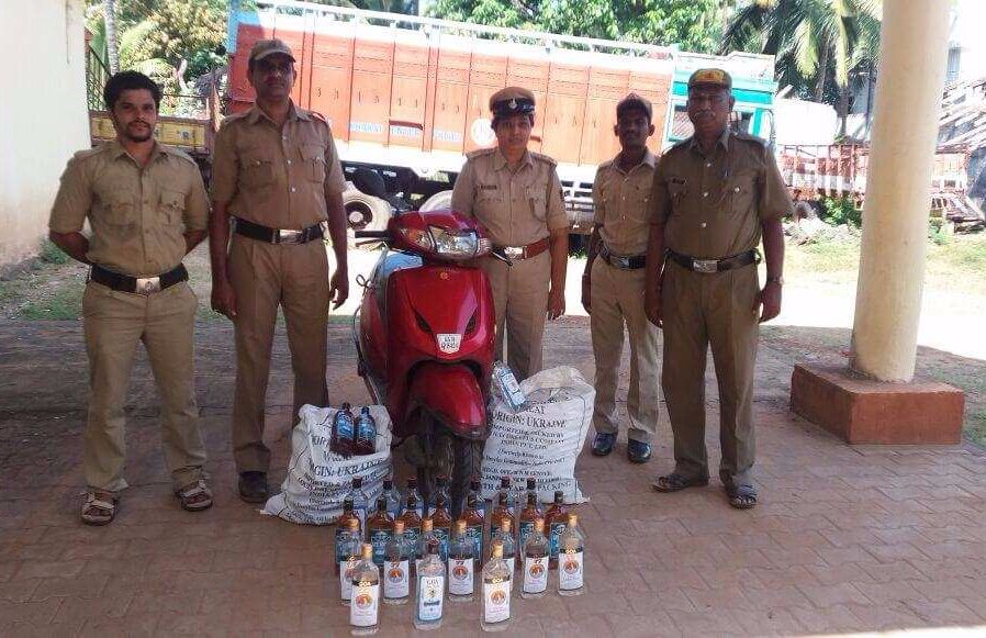 Illegal liquor seized