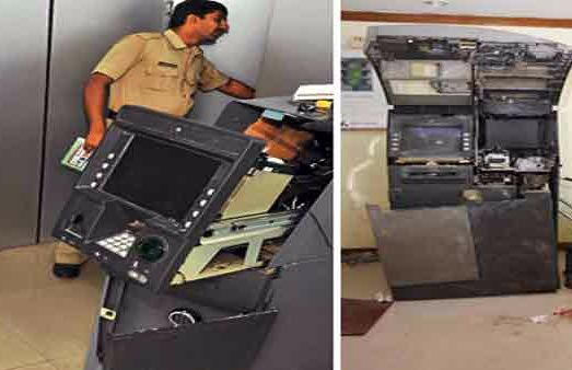 7 ATMs attempt to rob