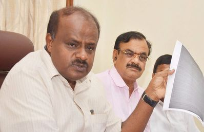 HDK allegation on state and centre