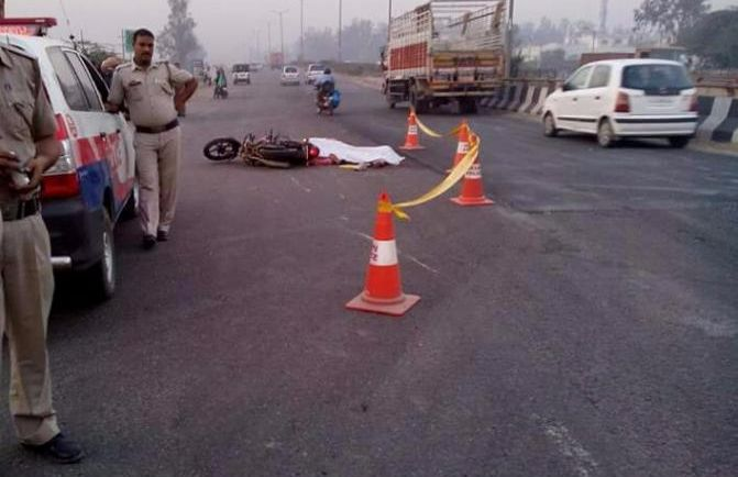 Lorry accident 1 died