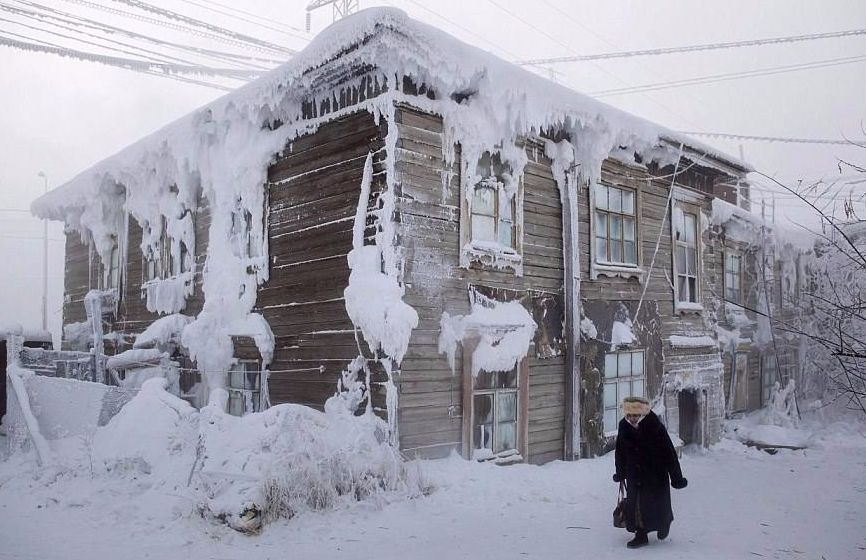 coldest inhabited village on earth
